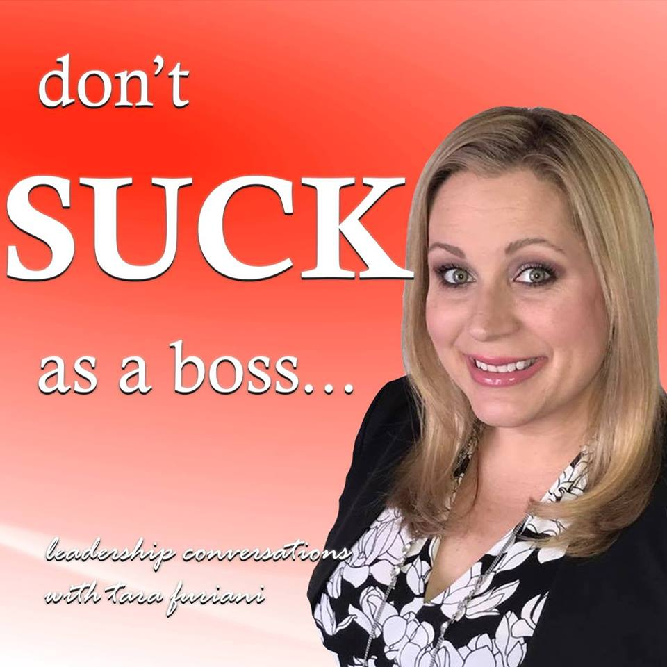 Don't Suck as a Boss